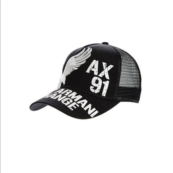 4905234ffae A X Armani Exchange Other - Armani Exchange black baseball cap